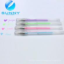 Best Sale Multicolor White Gel Pen in Low Price, Gel Ball Pen for School Supplies