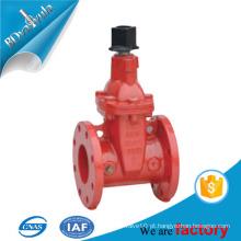 """4 """"6"""" ANSI AWWA C550 UL Válvula de portão dupla de ferro dupla de proteção contra incêndio aprovada"""