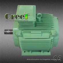 Wechselstrom bürstenloser 3 Phasen 15kw 150rpm Dauermagnetsynchrongenerator