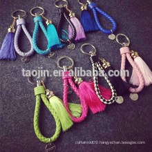 simple and beautiful Simple and elegant tassel for key decoration