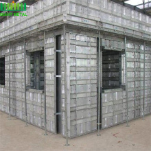 Aluminum formwork concrete foundation wall formwork