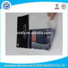 Пластиковый пакет с застежкой-молнией для брюк