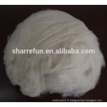Cachemire ivoire en fibres précieuses