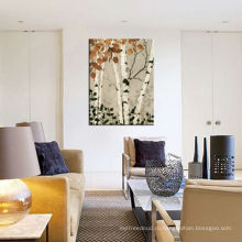 Масляная картина лесного пейзажа для домашнего украшения