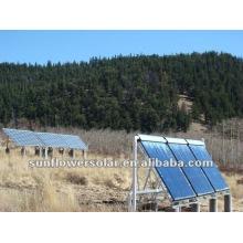 Colector solar a presión