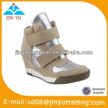 Hot selling hidden platform boots shoes