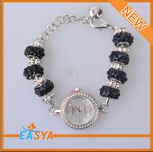 Latest Men Bracelet Jewelry,Charm Beaded Bracelet With Watch