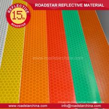 Alveolate BS EN12899-12001 reflex sheeting