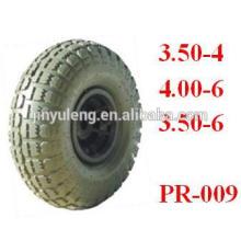 резиновые колеса 8,10, 12, 13,14, 15,16,18 дюйма для тачки