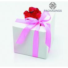 Customize Kraft Paper Gift Packaging Box Square Box