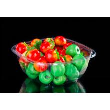 Bandeja de embalagem de frutas e morangos e mirtilo para cultivadores