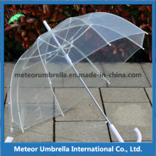 Straight Auto Open Clear Transparent Bubble Promtion Gift Umbrella