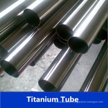 Tubo de titânio do aço inoxidável Gr5 soldado da fábrica de China