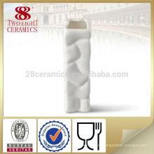 kleine chinesische Porzellan quadratische antike Keramik Blumenvase