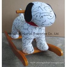 Rocker animal-Spotty balançado do cão do projeto novo