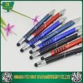 Металлическая ручка для корпоративного подарка с стилусом