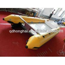 Barco inflável de esporte CE de catamarã de alta velocidade