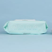 Natürliche Bio-Babytücher mit Vliesmaterial
