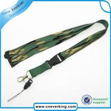Cmyk Submliamtion Correa con cordón de poliéster con hebilla plástica