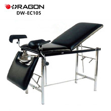 DW-EC105 Gynecological equipment couch hospital made of full stainless steel