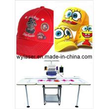 Máquinas de bordado Barudan máquina de bordado de tapa de punto de cruz de artesanía de cabeza única Wy1501CS