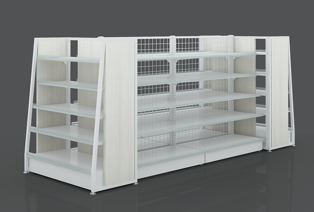 retail shelves