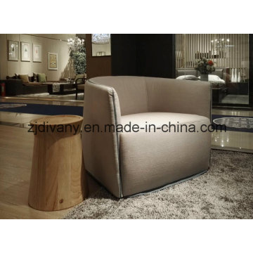 Modern Style Coffee Shop Leather Single Sofa (D-82)