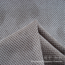 Nylon Corduroy Grain Pettern Cutted Fabric for Decorative Use