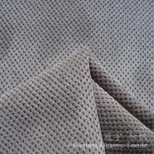Tela Pettern Cutted da grão de nylon do veludo de algodão para o uso decorativo