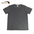 Simple and cheap Gray & Purple Semi-sleeve Short