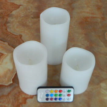Lifetime guarantee flickering LED candle