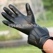 New arrival driving men winter sheepskin leather gloves