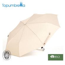 3 brinde promocional dobrável e guarda-chuva automático