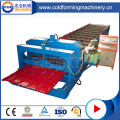 Högkvalitativ Aluminium Step Roof Tile Roll Forming Machine
