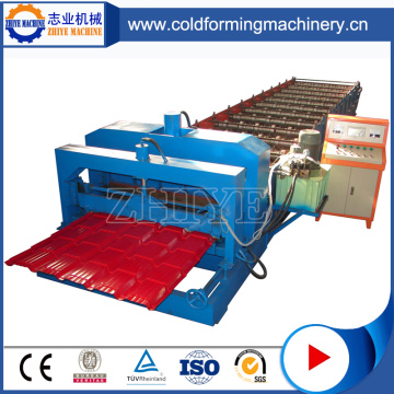 Botou PLC Controlled Zinc Glazed Tile Roofing Machine