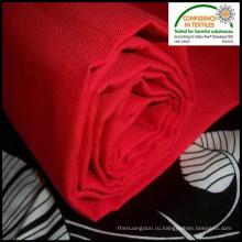 Носить красный труда ткань полиэстер хлопок саржа