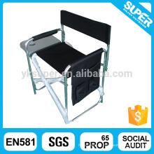 2016 Outdoor Aluminium Folding Director Chair cadeira de quadro dobrável quadro metálico