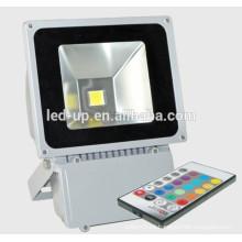Luz del reflector del RGB 100W LED del regulador IP65 llevada