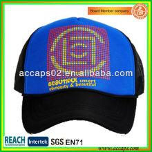 Zweifarbige Silk Screen Mesh Caps TC-1018