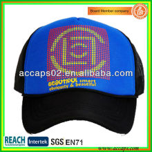 Two-tone Silk Screen Mesh Caps TC-1018