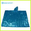 Cheap Clear Waterproof PE Rain Poncho Rvc-078