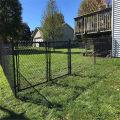 Galvanized Steel 9 Gauge industrial chain link fencing