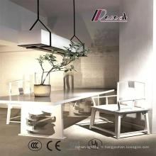 Nouveau style élégant restaurant abat-jour tissu ombre lampe