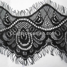 Eyelash Lace In Black Color
