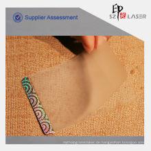 Holographische Kunststoff-Laminat-Beutel für PVC-Karte