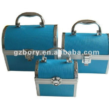 Cosmetic Case with Mirror Make up Case