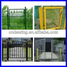 Puerta revestida del metal del pvc (fabricante y exportador)
