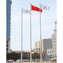 Китай Дизайн Белый Порошок с покрытием флага полюс