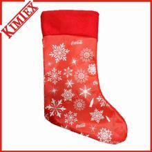 Рождественские носки из нетканого материала
