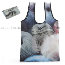 Custom Print Eco-Friendly Polyester Water Proof Shopping Bag
